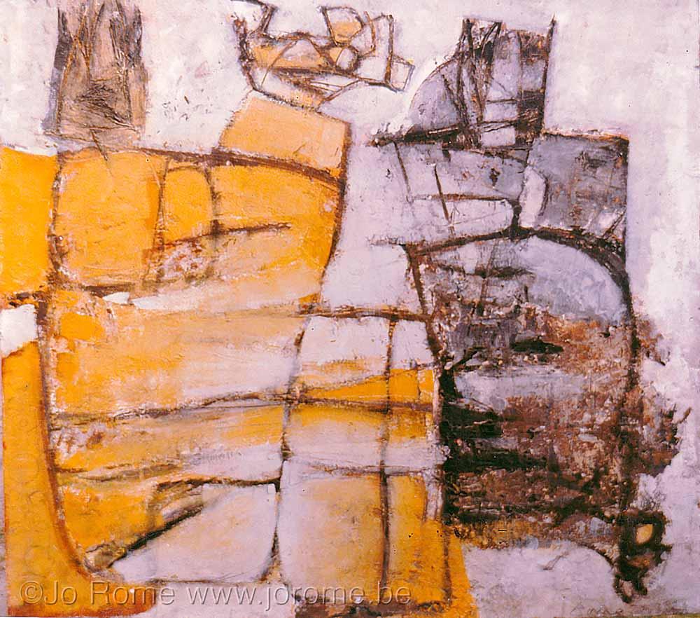 Peinture à l'huile sur panneau, 132x145, 1970