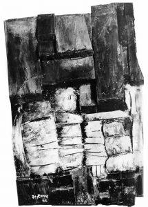 Relief en polyester, 1966 collection privée