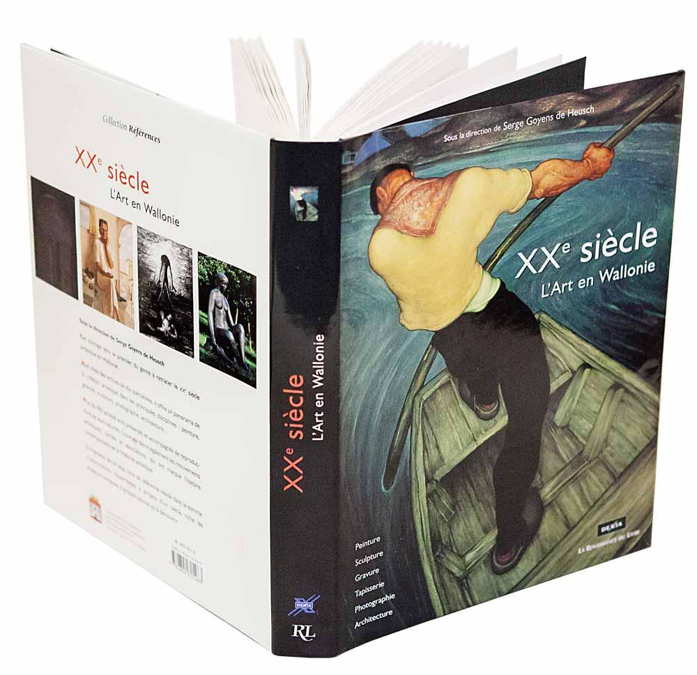 XXe siècle, l'Art en Wallonie, La renaissance du livre, 2001