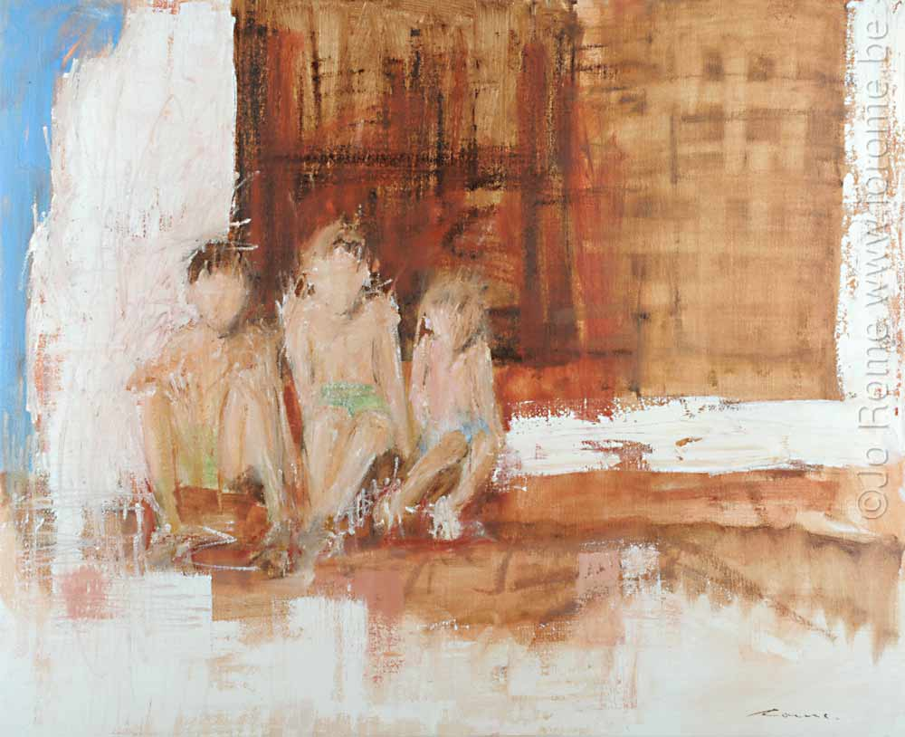 jro009 artiste peintre contemporain 3 enfants 2008 tm