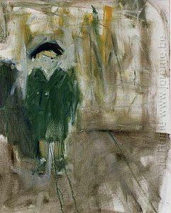 Autoportraits, huile sur toile, Jo Rome