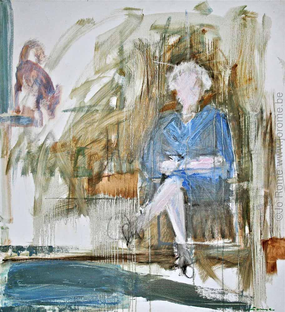 jro062 artiste peintre liegeois xxe siecle maman etape 1998 tg