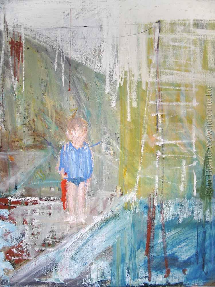 jro097 peintre belge contemporain jo rome 2004 tm
