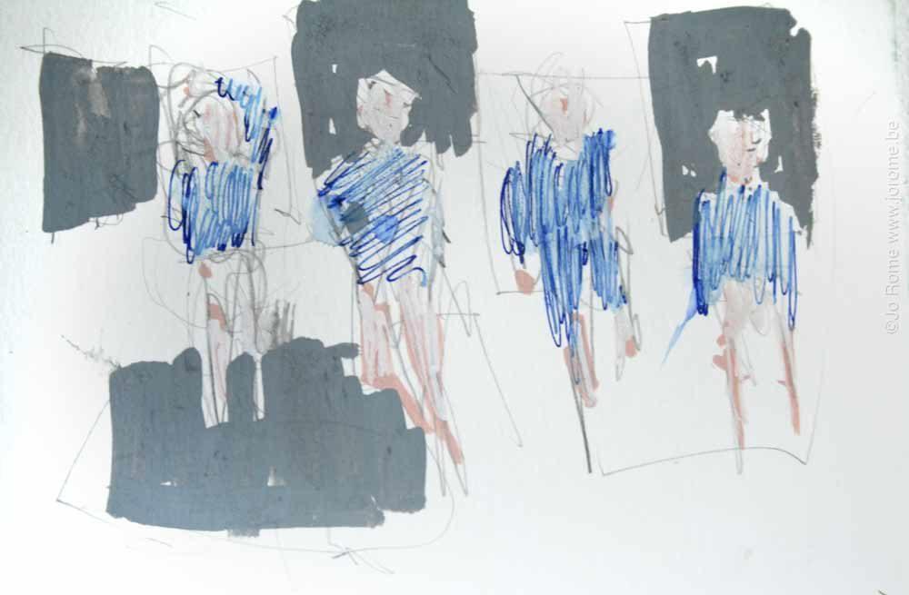 jro166 les peintres belges croquis preparatoire jo rome 7493 2012 tp