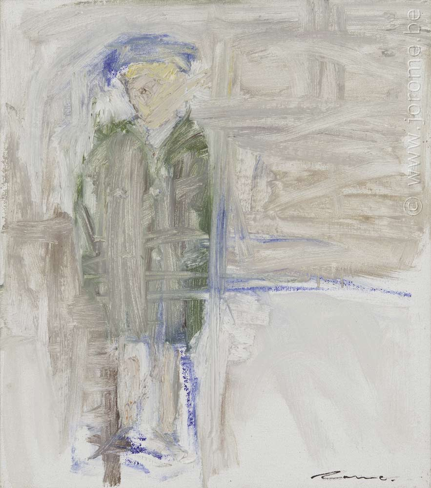 Autoportrait au béret II