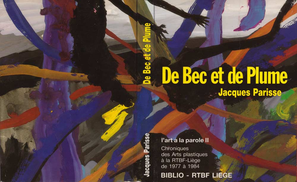 De bec et de plume, Jacques Parisse, 1987